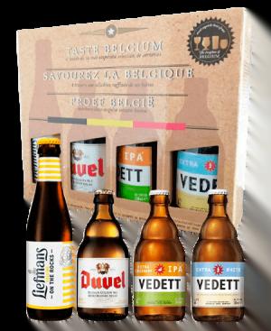Cervezas de Bélgica: Liefmans, Duvel y Vedett a domicilio