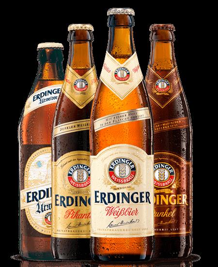 Cervezas alemanas Erdinger a domicilio