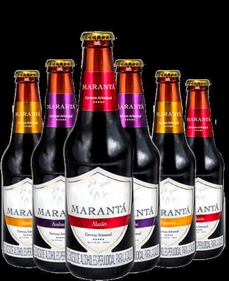 Cervezas Marantá de Colombia a domicilio