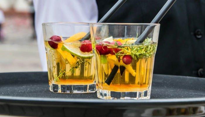 Bebidas con y sin licor para eventos y planes