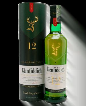 Whisky Glenfiddich 12 Años a domicilio en Bogotá y Colombia