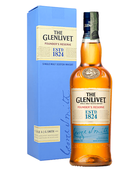 Whisky Glenlivet Founder's Edition Colombia Domicilios