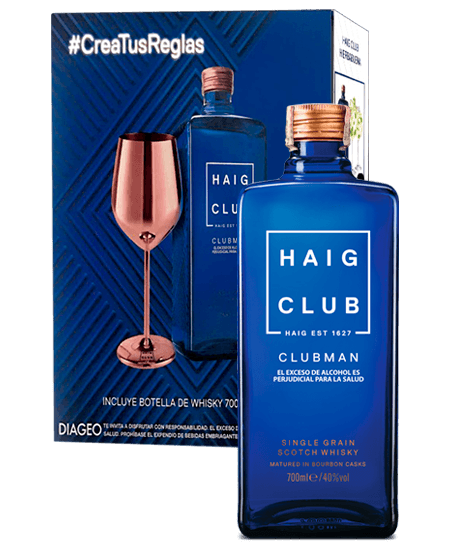 Whisky Haig Club Clubman a domicilio