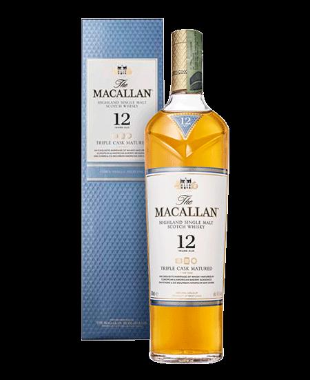 Whisky Macallan 12 Años Triple Cask Colombia