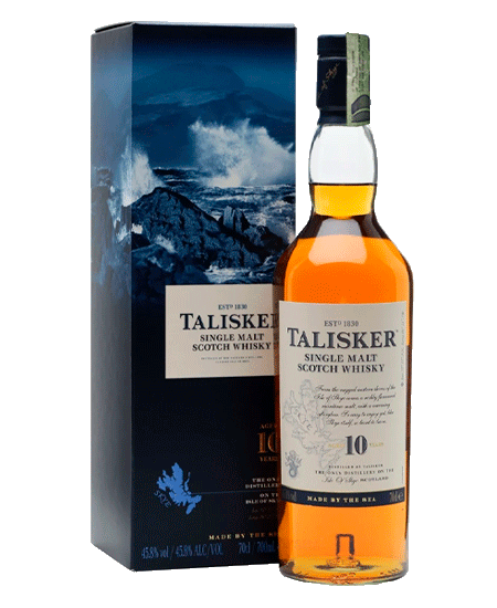 Whisky Talisker 10 Años: 700ml