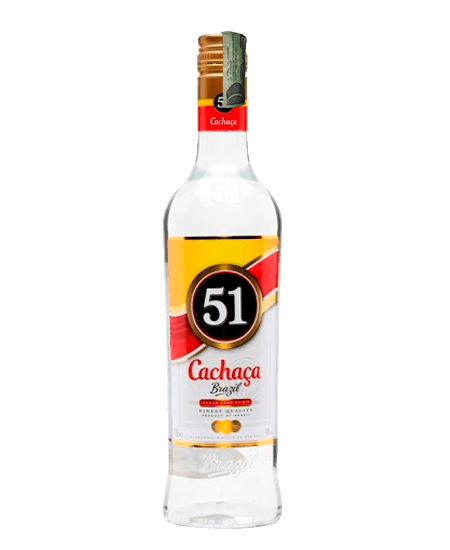 Cachaça Cachaza 51 de Brasil a domicilio