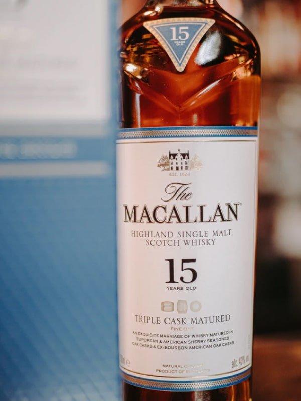 Experiencia de whisky Macallan en Bogotá