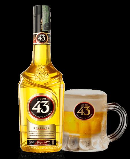 Licor 43 Cuarenta y Tres Elixir Dorado Domicilios