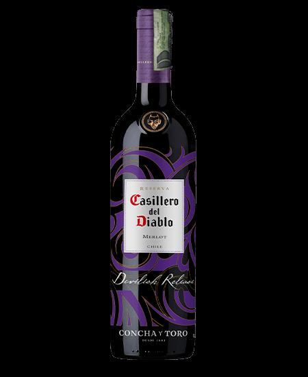 Vino Casillero del Diablo Devilish Merlot Domicilios Colombia