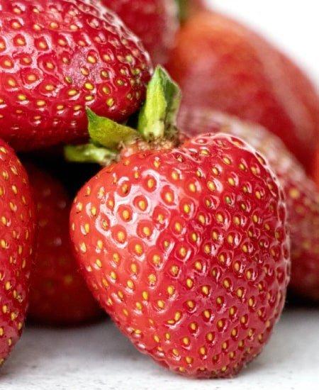 Fresas o frutillas para cocteles
