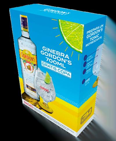Ginebra Gordons: 700ml