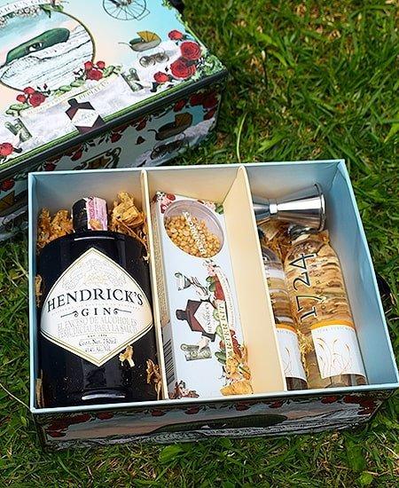 Cata virtual con kit de ginebra Hendrick's a domicilio en Colombia